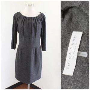 Trina Turk Charcoal Dress
